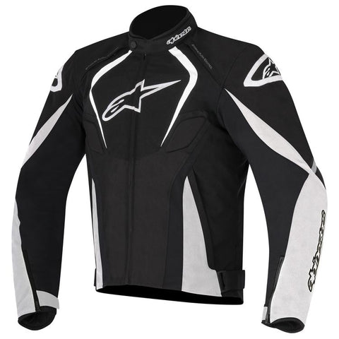 ALPINESTARS T JAWS WATERPROOF JACKET - BLACK WHITE