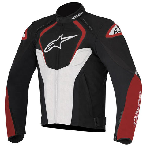 ALPINESTARS T JAWS WATERPROOF JACKET - BLACK WHITE RED
