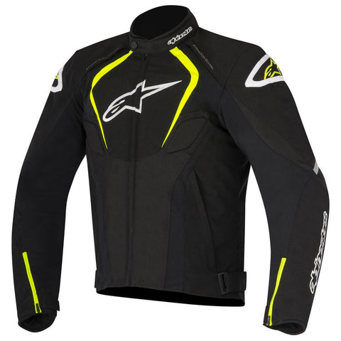 ALPINESTARS T JAWS WATERPROOF JACKET - BLACK WHITE YELLOW