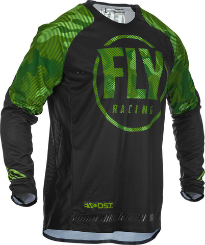 NEW 2020 FLY RACING FLY EVOLUTION DST JERSEY - GREEN BLACK