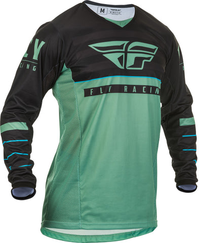 NEW 2020 FLY RACING FLY KINETIC K120 JERSEY - SAGE GREEN BLACK