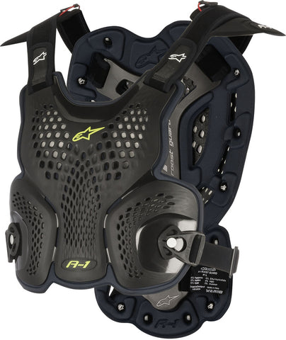 ALPINESTARS ADULT A1 CHEST PROTECTOR DEFLECTOR - BLACK
