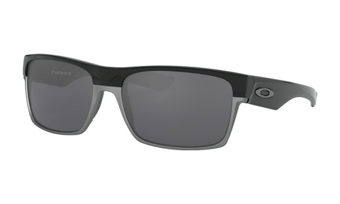 OAKLEY TWO FACE POLISHED BLACK w/BLACK IRIDIUM