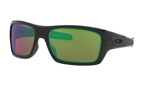 OAKLEY TURBINE POLISHED BLACK w/PRIZM SHALLOW WATER POLARIZED