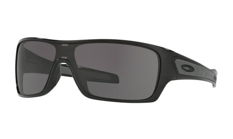 OAKLEY TURBINE ROTOR POLISHED BLACK w/WARM GREY