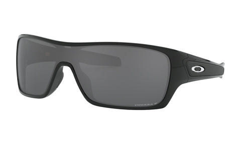 OAKLEY TURBINE ROTOR POLISHED BLACK w/PRIZM BLACK POLARIZED