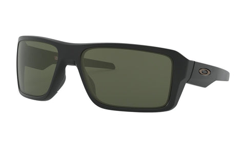 OAKLEY DOUBLE EDGE MATTE BLACK w/DARK GREY