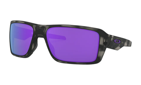 OAKLEY DOUBLE EDGE MATTE BLACK TORTOISE w/VIOLET IRIDIUM