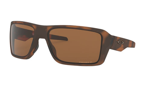 OAKLEY DOUBLE EDGE MATTE TORTOISE w/PRIZM TUNGSTEN POLARIZED