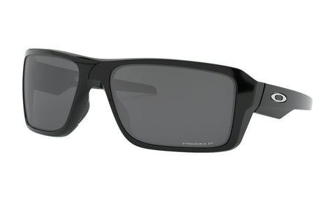 OAKLEY DOUBLE EDGE POLISHED BLACK w/PRIZM BLACK POLARIZED