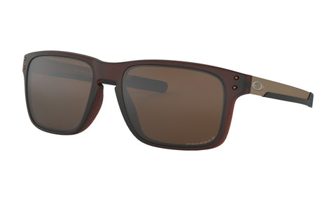 OAKLEY HOLBROOK MIX MATTE ROOT BEER w/PRIZM TUNGSTEN POLARIZED