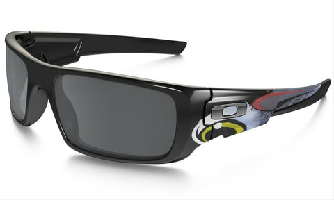 OAKLEY CRANKSHAFT POLISTED BLACK w/BLACK IRIDIUM