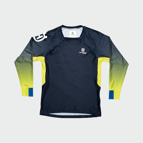 NEW KIDS 2020 HUSQVARNA RAILED JERSEY - YELLOW