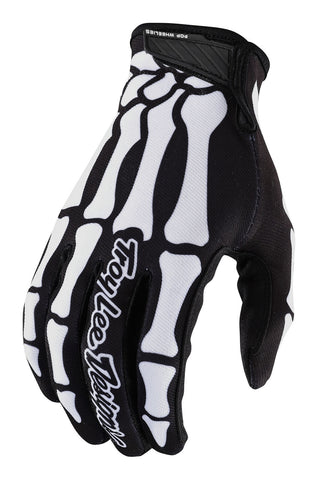 NEW 2020 TROY LEE DESIGNS LIMITED EDITION SKULLY SKELETON AIR GLOVES