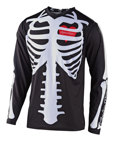 NEW 2020 TROY LEE DESIGNS LIMITED EDITION SKULLY SKELETON GP JERSEY