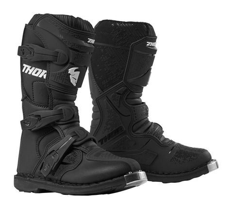 THOR YOUTH BLITZ XP BOOTS - BLACK