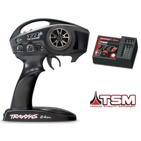 TRAXXAS 6509R TQI 2-CHANNEL RADIO WITH TSM TRAXXAS STABILITY MANAGEMENT RECEIVER