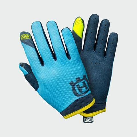 100% HUSQVARNA KIDS ITRACK RAILED GLOVES