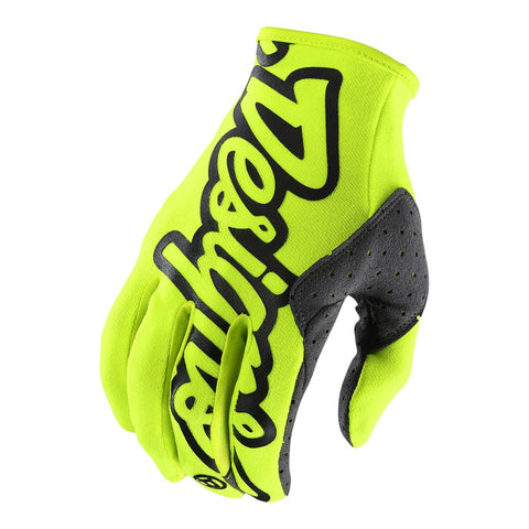 NEW 2020 TROY LEE DESIGNS SE GLOVE - FLO YELLOW
