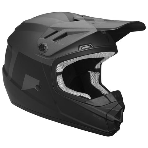 THOR YOUTH SECTOR LEVEL HELMET - BLACK GRAY