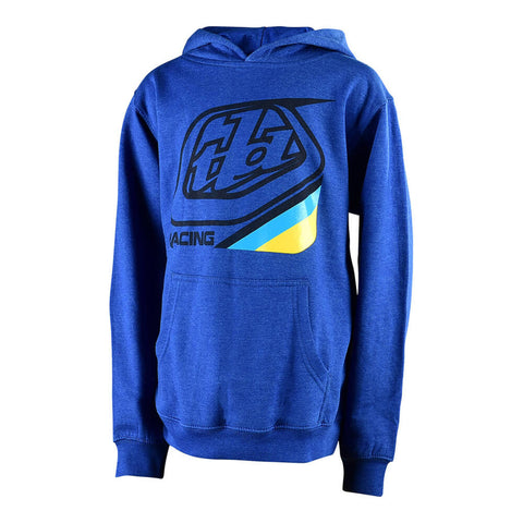 TROY LEE DESIGNS YOUTH PRECISION 2.0 PULLOVER - ROYAL HEATHER