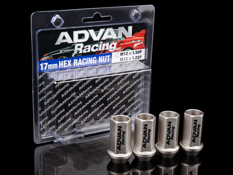 Advan Racing Lug Nuts 17mm - Champagne Gold
