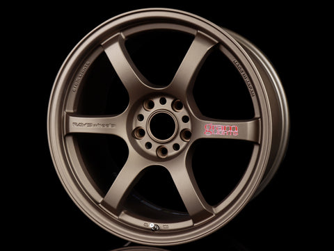 Rays Gram Lights 57DR Wheels - Bronze 18x9.5 / 5x114 / +38