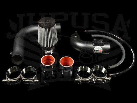HPS Performance Cold Air Intake Kit 2015-2018 Honda Fit 1.5L Manual Trans., Converts to Shortram