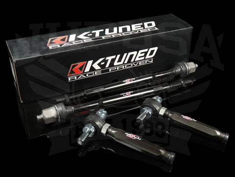 K-Tuned Spherical Tie Rod Set - 01-05 Civic/02-06 RSX