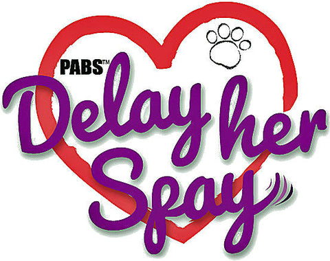 Delay her Spay Logo