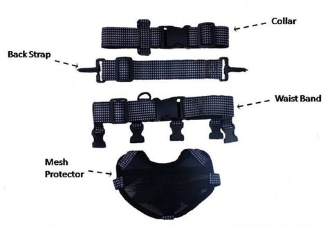 Dog Chastity Belt Harness Parts