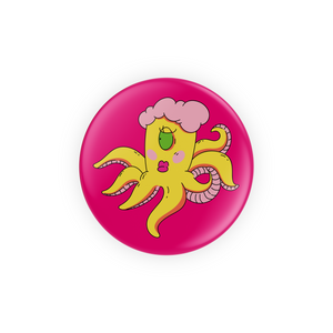 Feminine Octopus Alien Pins
