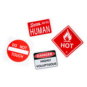 Here's Your Sign Stickers Collection