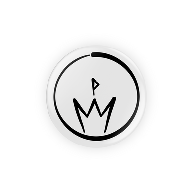 10th Queendom Logo Pin-Back Button