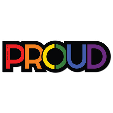 "10th Queendom ""Gay Proud"" Sticker [Premium Matte Waterproof Bubble-Free Vinyl]"