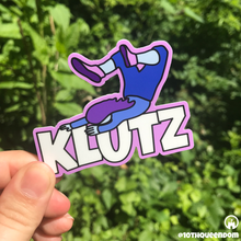 Load image into Gallery viewer, Clutz/Klutz Stickers