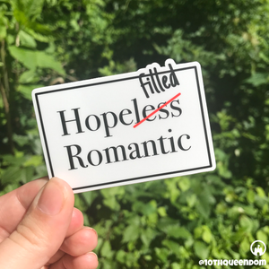 Hope-Filled Romantic Stickers