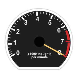 Thoughts per Minute Stickers