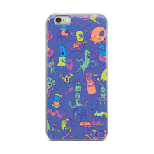 Load image into Gallery viewer, We're All Aliens Here iPhone Case in Pastel