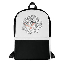 Load image into Gallery viewer, 10th Queendom Blushing Scarred Girl Backpack