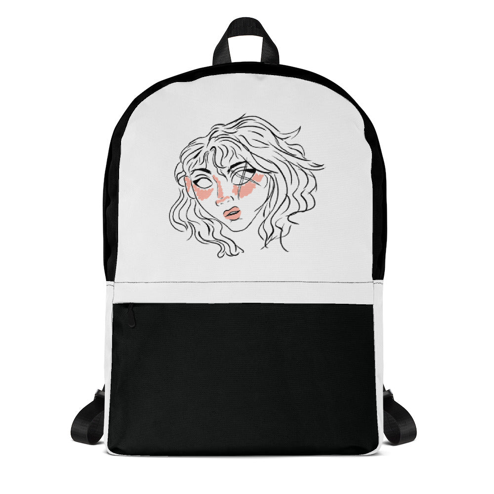 10th Queendom Blushing Scarred Girl Backpack