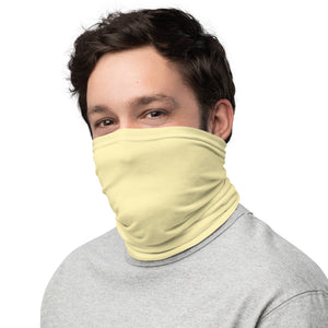 10th Queendom Light Yellow Neck Gaiter