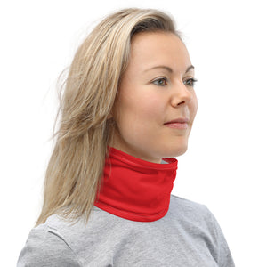 10th Queendom Bright Red Neck Gaiter