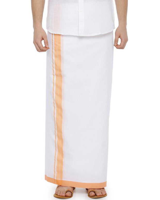 Celebrate - Yellow Fancy Double Dhoti