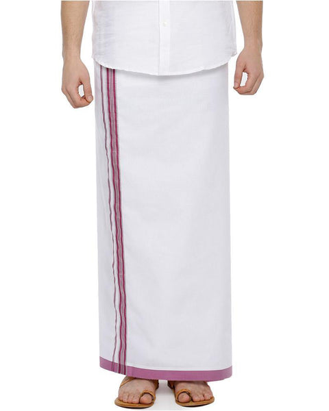 Rana Fancy - Pink Fancy Single Dhoti