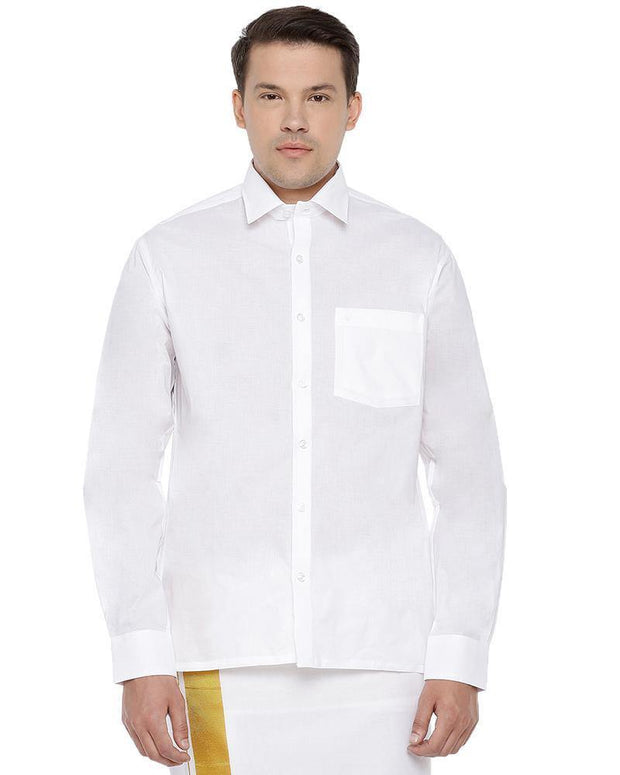 White Gold - White Shirts Full
