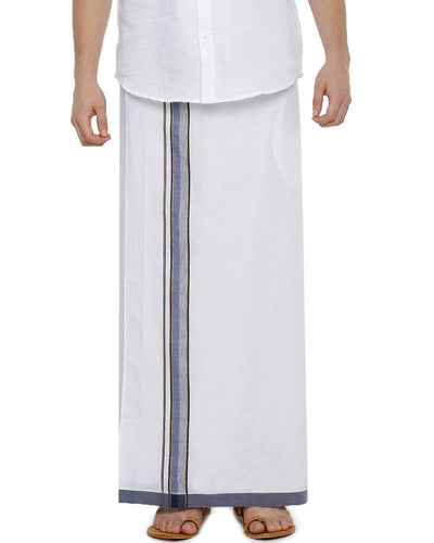 Fixit Single Fancy -Free Size Pocket Dhoti