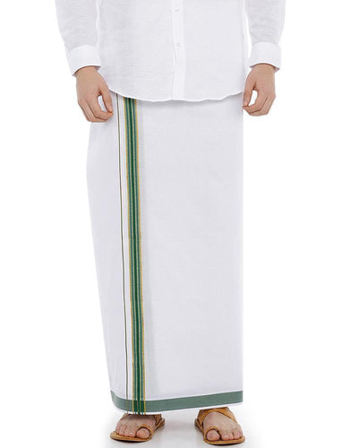 Viswasam - Green Fancy Single Dhoti