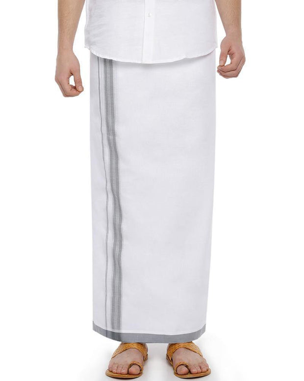 Rana Fancy - Grey Fancy Single Dhoti