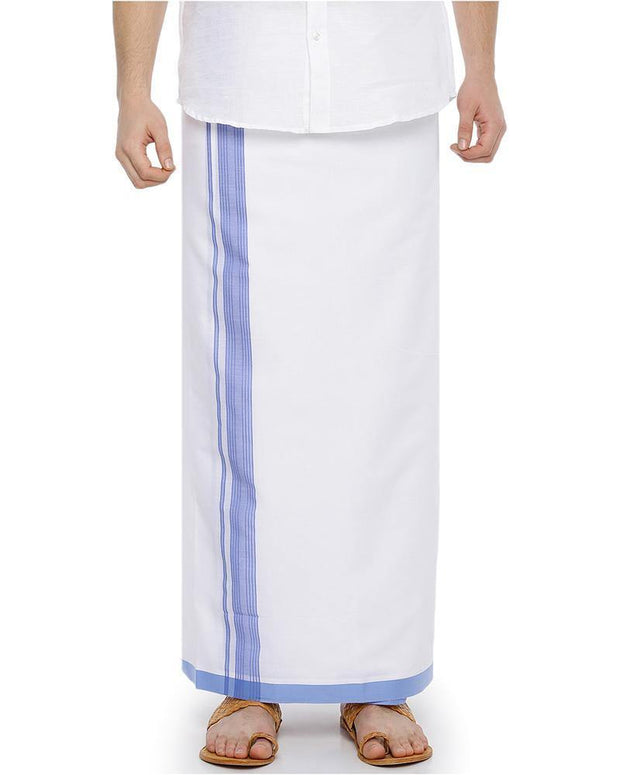 Celebrate - Purple Fancy Double Dhoti